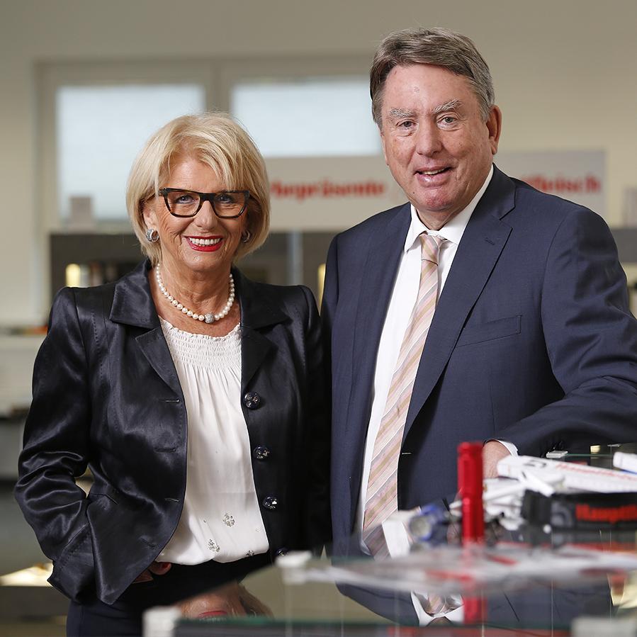 Firmengründer: Marita und Wolf R. Hauptfleisch